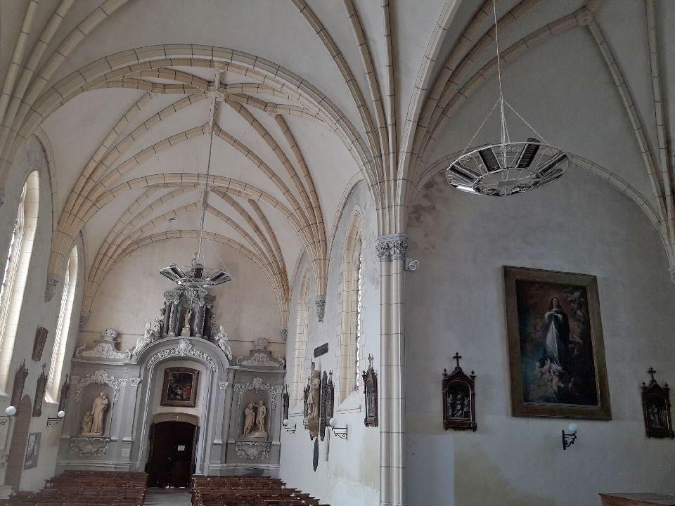 Chauffage pour l'église de Saint Aubin de Luigné