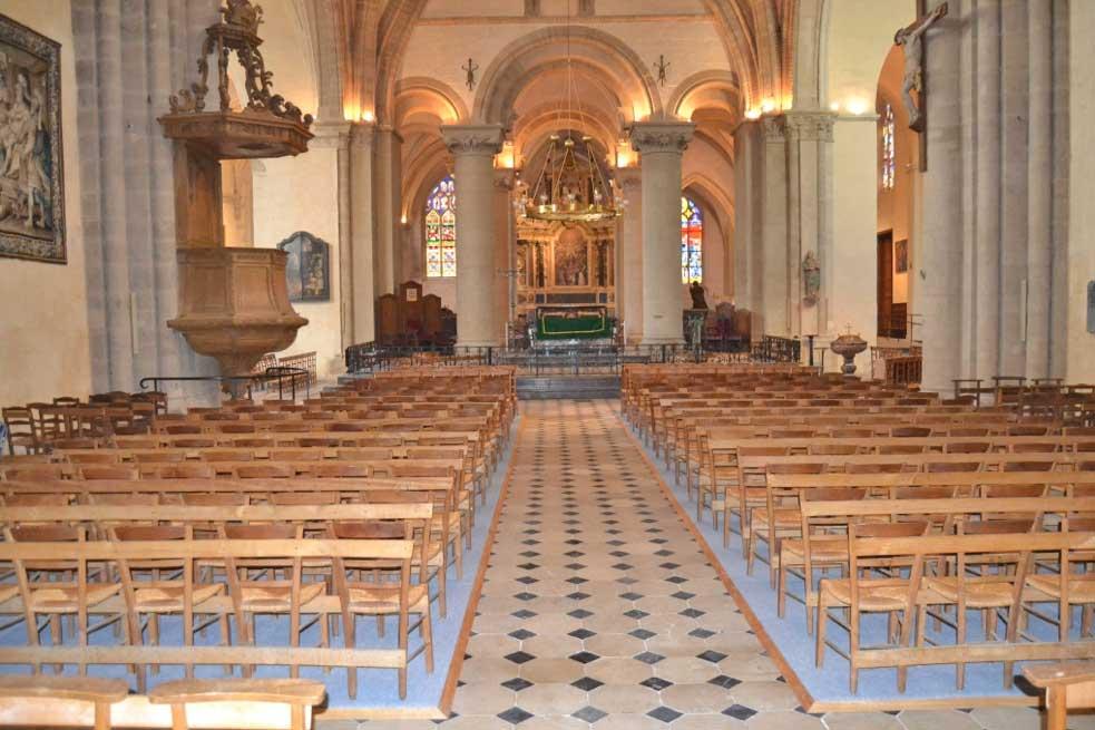 Moquette Chauffante dans une église