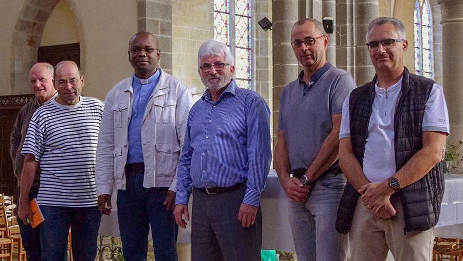 Le chauffage par rayonnement installé dans l'église - Photo Ouest-France