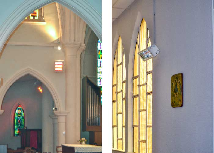 Chauffage de Notre Dame au Levant à Brest