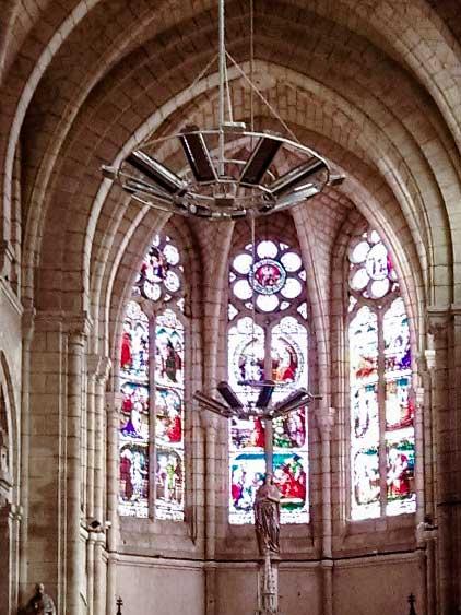 Chauffage église Notre Dame de Nerac