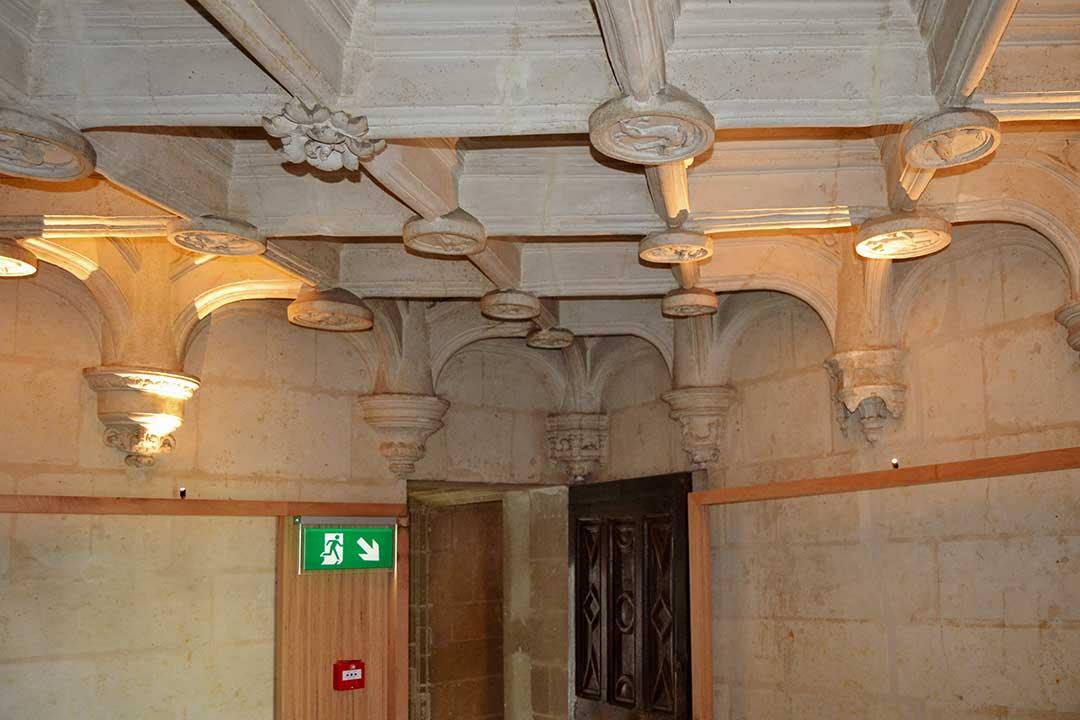 Eclairage et chauffage du musée Pincé à Angers