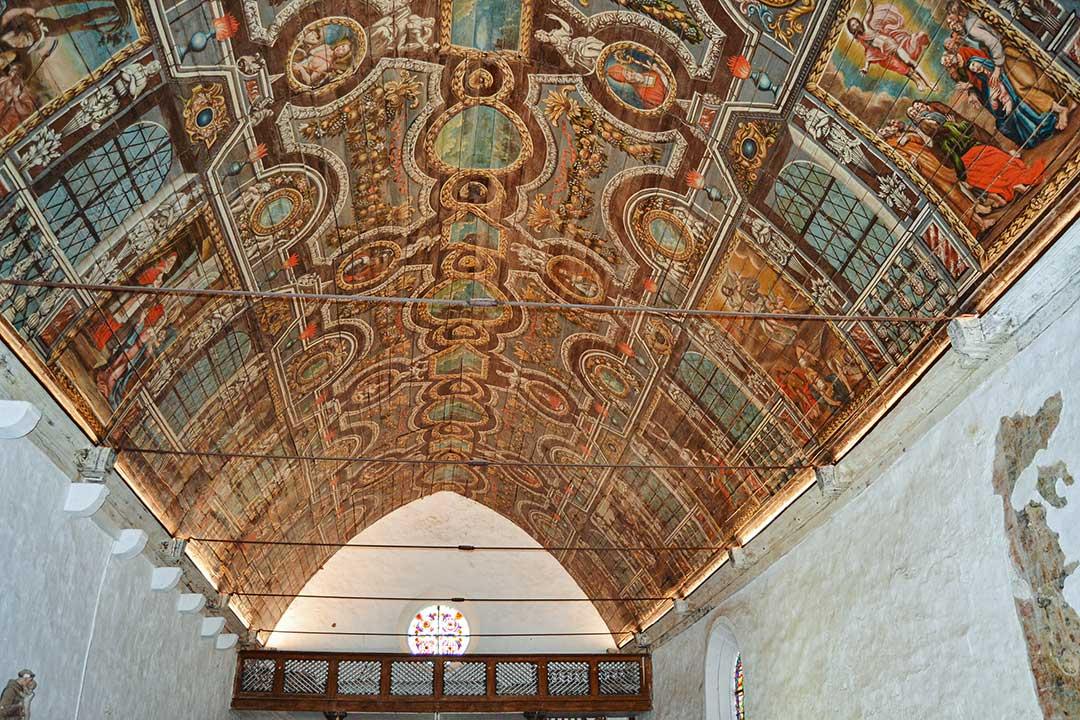 Réfection de l'éclairage Notre Dame de Carmés - Neulliac - 56