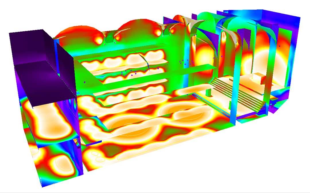 Lustre sur mesure - Les études d'éclairement avec logiciel Dialux