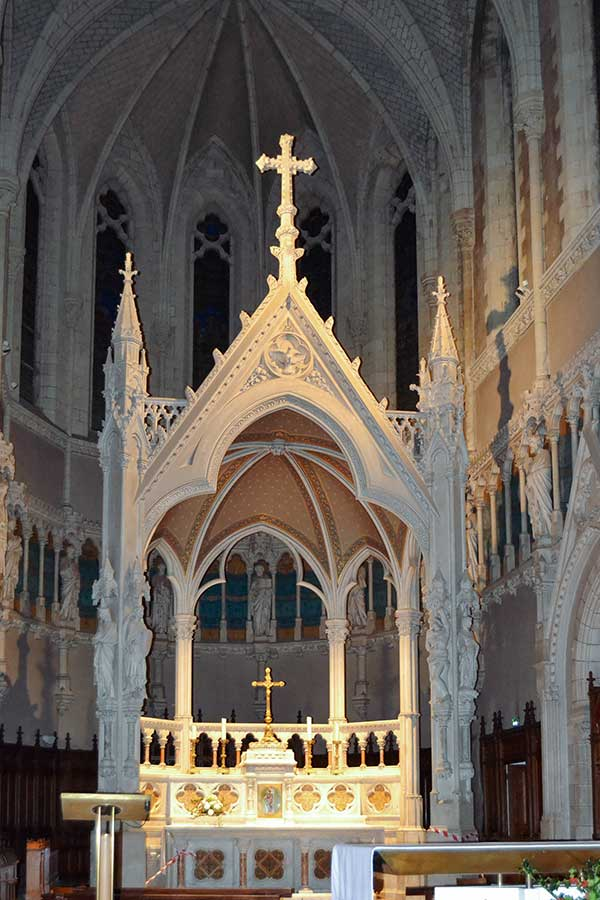 refection éclairage église