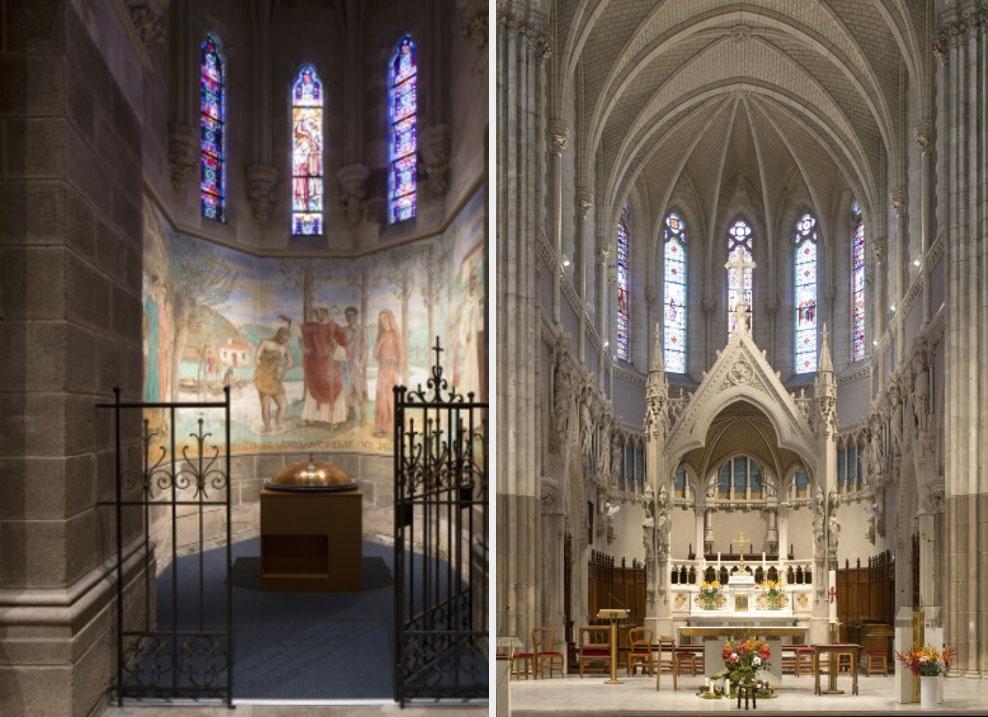 Réfection des installations électriques de l'Eglise Saint Martin à Vertou