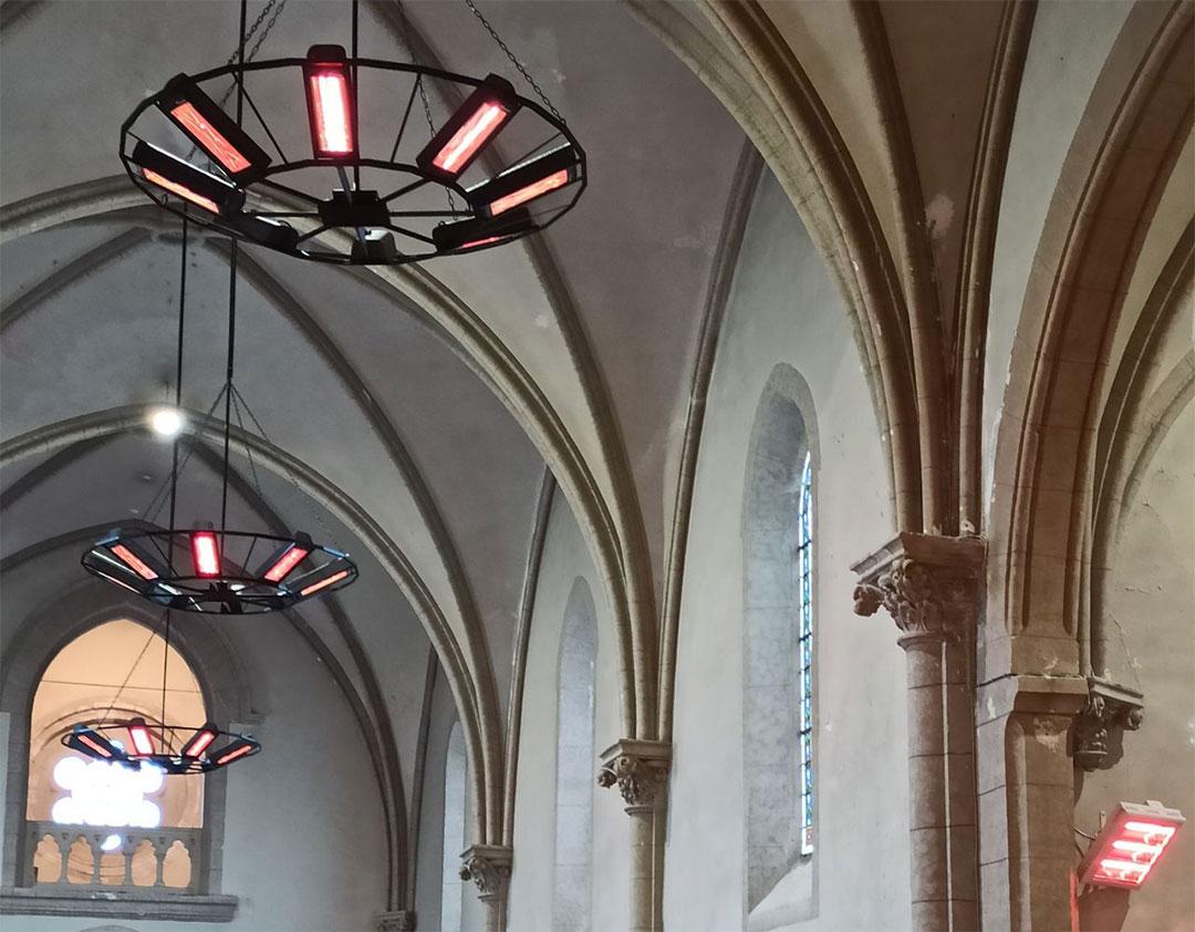 Chauffage de église de treize vents (85)
