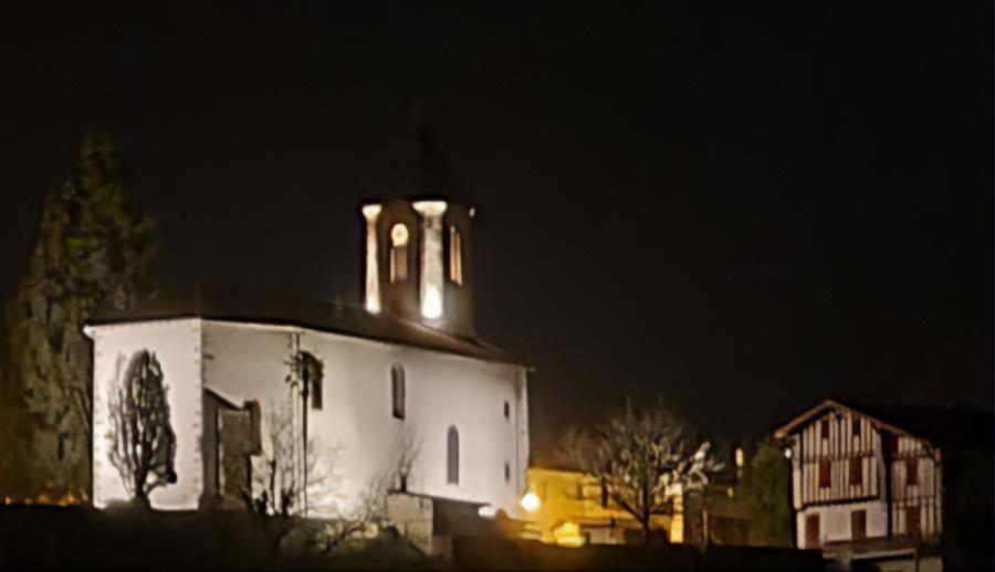 Eclairage et chauffage de l'église Saint Laurent Cambo les bains