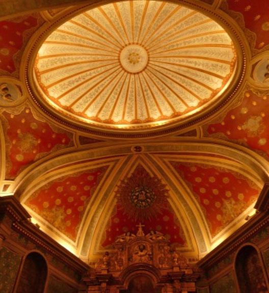 Eclairage de l'église Saint Laurent Cambo les bains