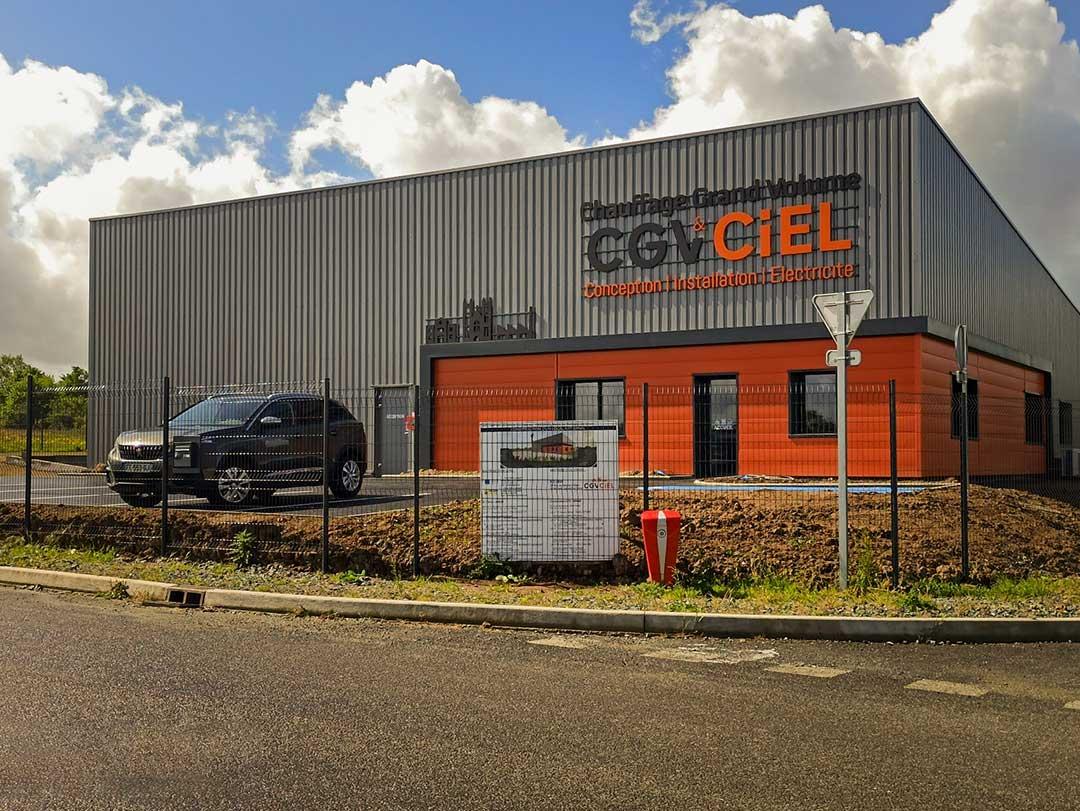 Nouveau bâtiment de CGV-CIEL