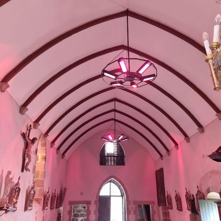 Nouvelle installation de chauffage pour l'église Saint Pantaléon de Saint Plantaire