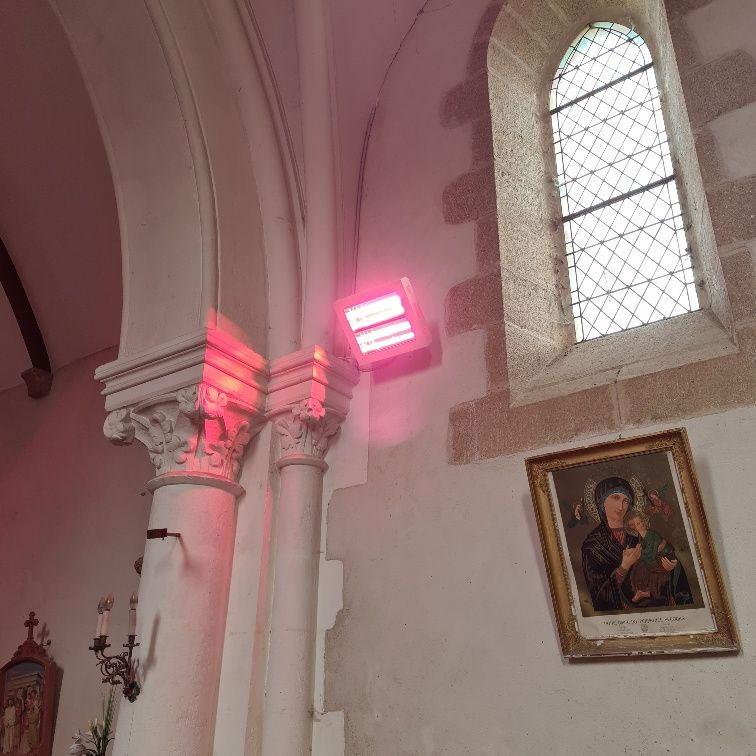 chauffage pour l'église Saint Pantaléon de Saint Plantaire
